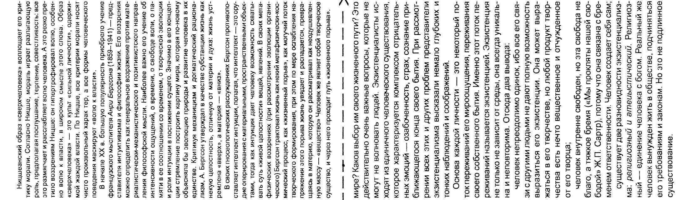 Шпоры по философии в схемах